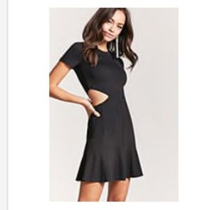 Forever 21 Black Cut-out Dress, Size M, NWT
